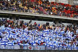 Des fans de Kimi Raikkonen, Ferrari