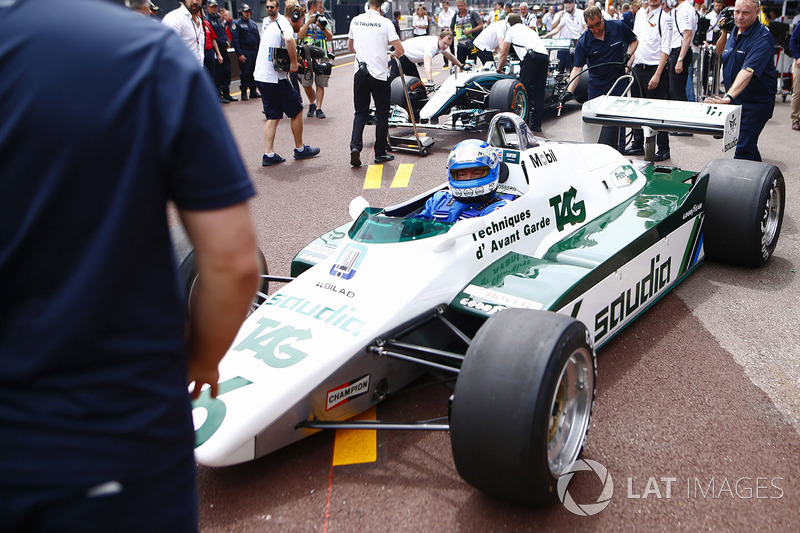 Кеке Росберг за рулем Williams FW08 Cosworth 1982 года