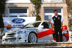 Carlos Sainz, Ford Escort WRC launch