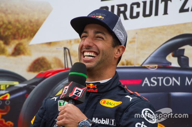 Daniel Ricciardo lors des Jumbo Racing Days