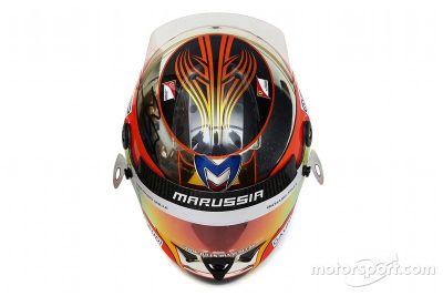 Subasta de casco de Jules Bianchi.
