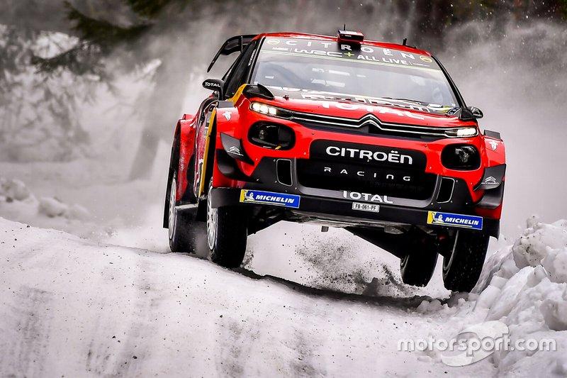 Себастьян Ож'є, Жульєн Інграссія, Citroën C3 WRC, Citroën World Rally Team