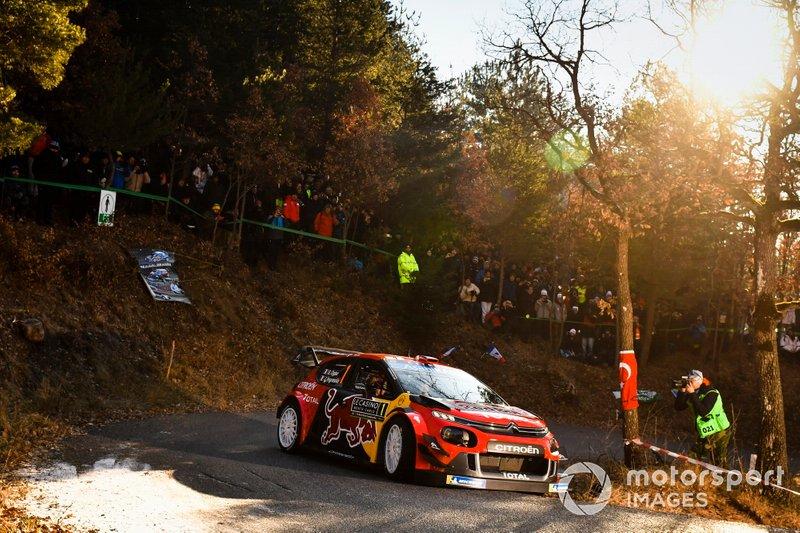 Себастьен Ожье и Жюльен Инграссиа, Citroën Racing, Citroën C3 WRC
