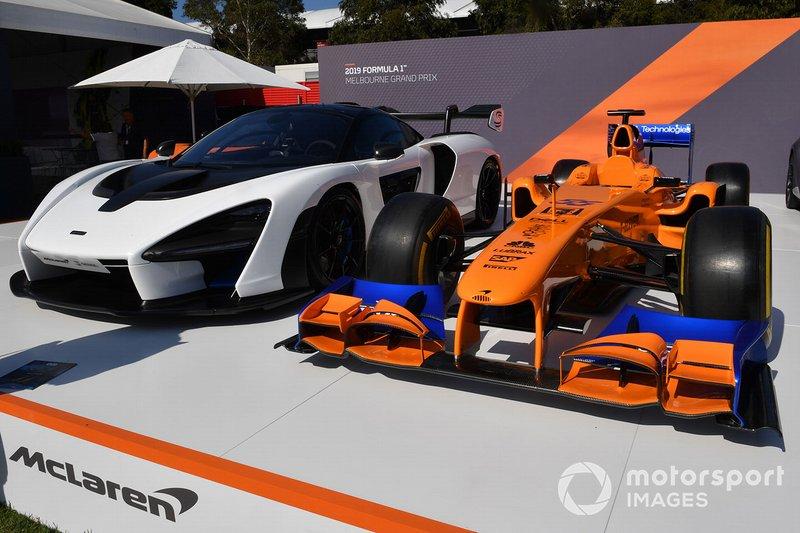 McLaren en Albert Park