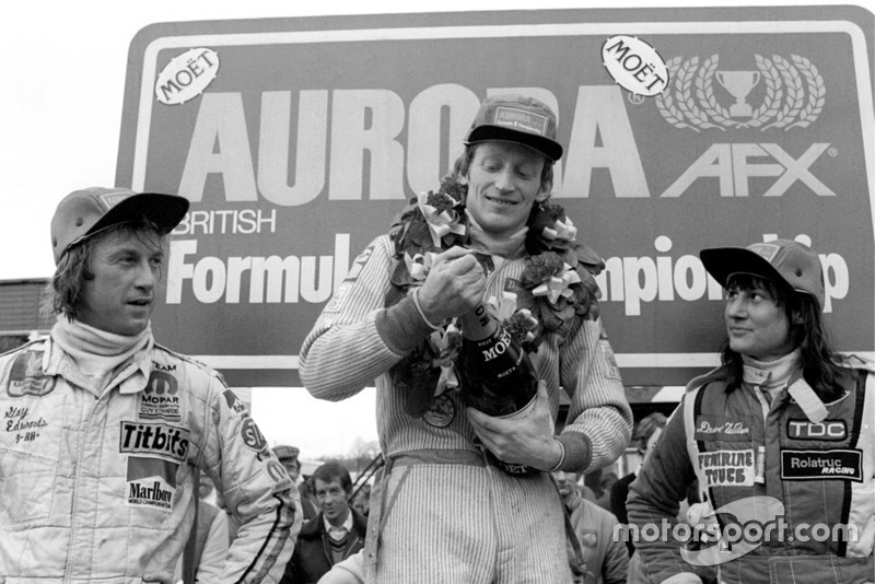 David Kennedy, Wolf WR4, Guy Edwards, Fittipaldi F5A, Desire Wilson, Tyrrell 008