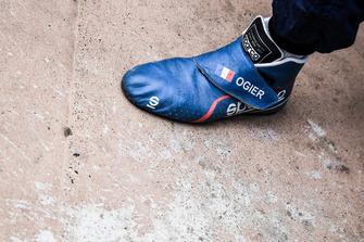 Botines de Sébastien Ogier, M-Sport Ford