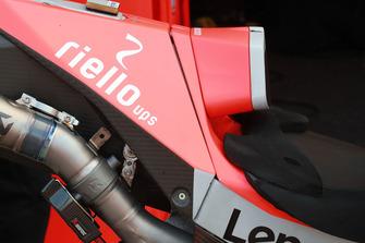 Sitz von Jorge Lorenzo, Ducati Team