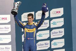 Podio: tercer lugar Sébastien Buemi, Renault e.Dams