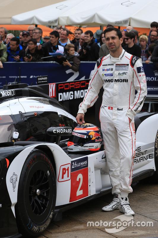 #2 Porsche Team Porsche 919 Hybrid: Ніл Яні