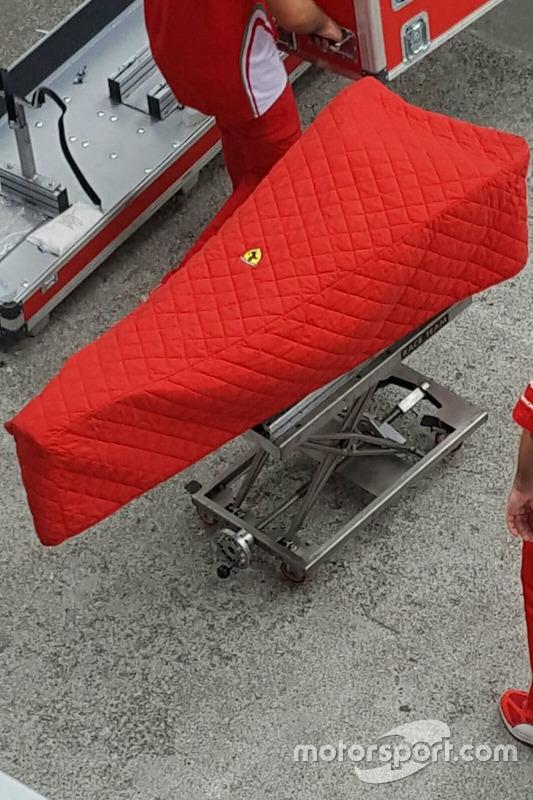 Ferrari SF16-H, Nase