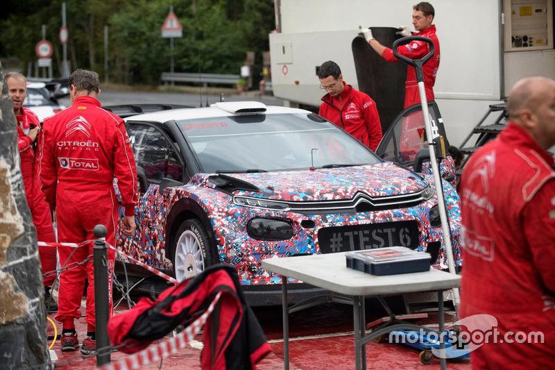 Kris Meeke, Paul Nagle, Craig Breen e Scott Martin , Citroën World Rally Team, Citroën C3 WRC Plus 2017