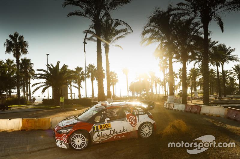 5. Кріс Мік, Пол Нейгл, Citroën DS3 WRC, Abu Dhabi Total World Rally Team