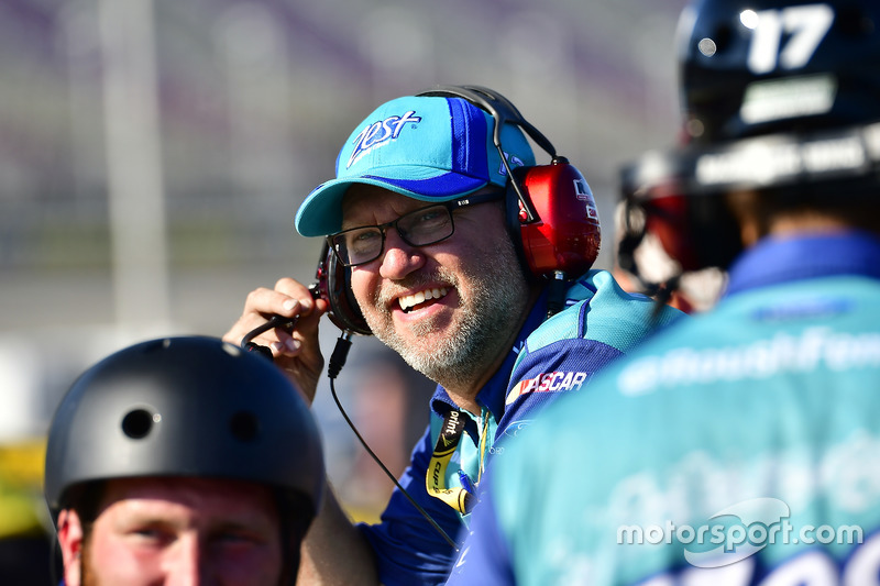 Mike Kelley, crew chief of Ricky Stenhouse Jr., Roush Fenway Racing Ford
