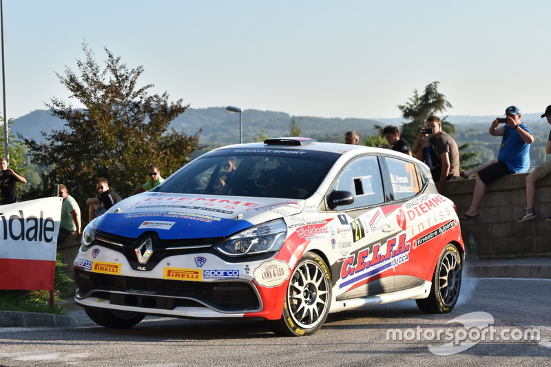 Luca Panzani, Sara Baldacci Renault Clio R R3T