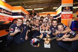Marc Marquez, Repsol Honda Team, Honda viert met het team