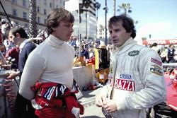 Didier Pironi, Ferrari; Gilles Villeneuve, Ferrari