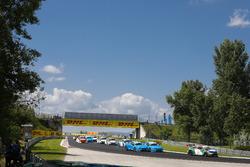 Start action, Mehdi Bennani, Sébastien Loeb Racing, Citroën C-Elysée WTCC