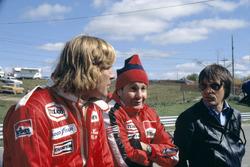 James Hunt, Teddy Mayer és Bernie Ecclestone