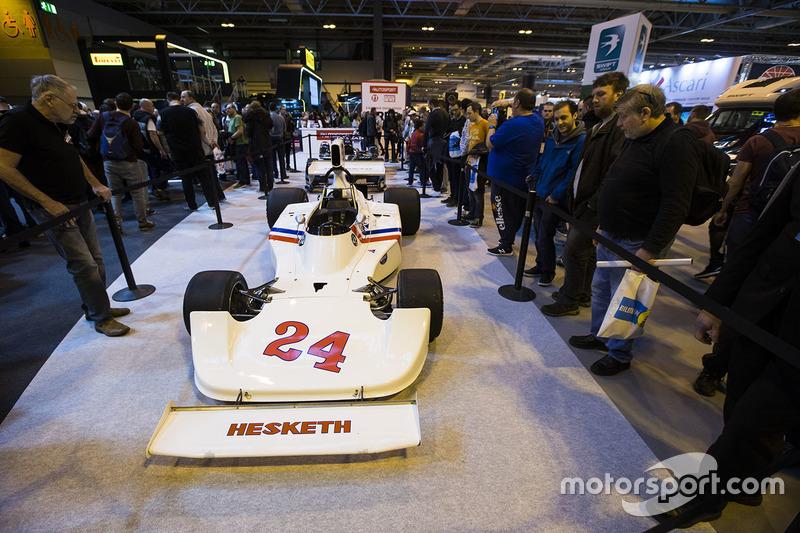 Coche de Hesketh F1 de James Hunt
