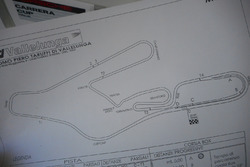 Piantina della pista di Vallelunga