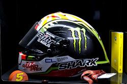Helmet of Johann Zarco, Monster Yamaha Tech 3