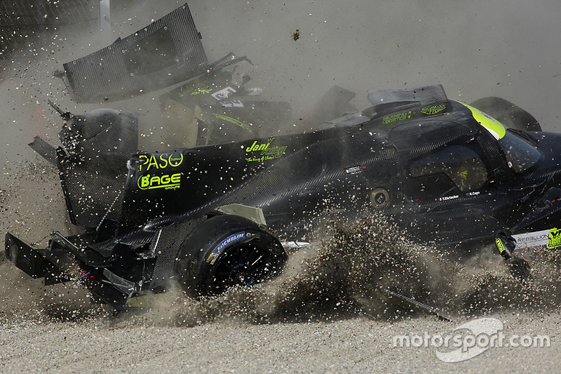 8. #19 M.Racing - YMR, Norma M 30 - Nissan: Gwenael Delomier
