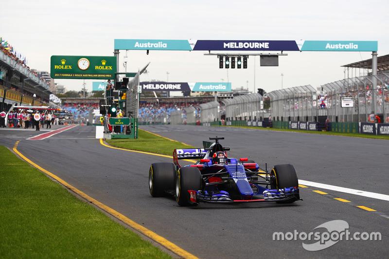 9: Данііл Квят, Scuderia Toro Rosso STR12