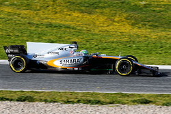 Alfonso Celis Jr., Sahara Force India F1 VJM10 Piloto de desarrollo