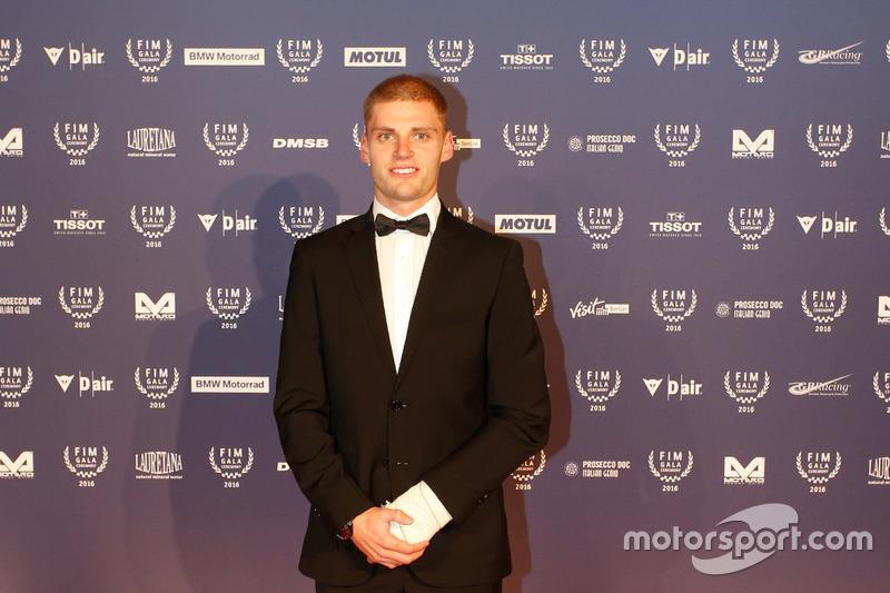El campeón de Moto3, Brad Binder