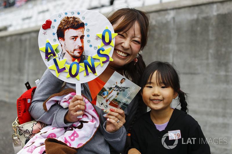 A fan of Fernando Alonso, McLaren