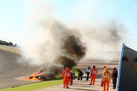 Sturz: Tom Sykes, Kawasaki Racing