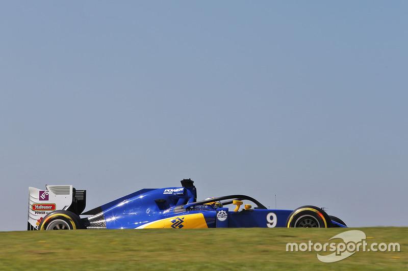 Halolu Marcus Ericsson, Sauber C35
