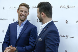 Jenson Button, McLaren; Parham Ramezani, Jeweller