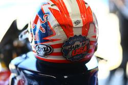 Le casque de Nicky Hayden, Honda World Superbike Team