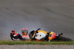 Chute de Marc Marquez, Repsol Honda Team