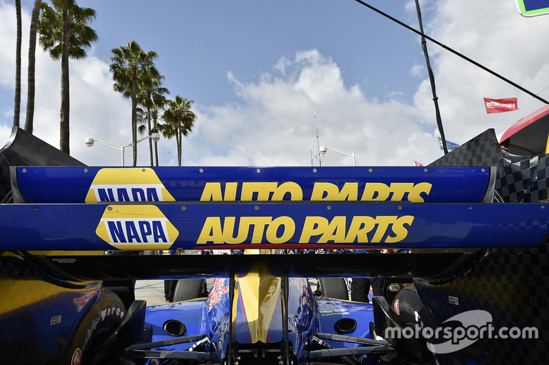 Auto von Alexander Rossi, Herta - Andretti Autosport, Honda