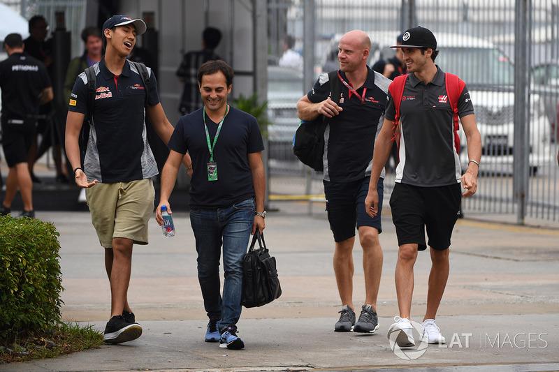 Sean Gelael, Scuderia Toro Rosso e Antonio Giovinazzi, Haas F1