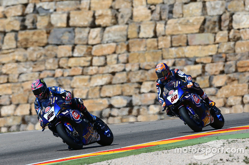Alex Lowes, Pata Yamaha; Michael van der Mark, Pata Yamaha