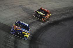 Kyle Busch, Joe Gibbs Racing Toyota, Erik Jones, Furniture Row Racing Toyota