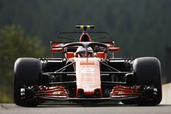 Stoffel Vandoorne, McLaren MCL32, mit Halo