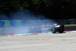 Santino Ferrucci, Haas F1 Team VF-17 spins