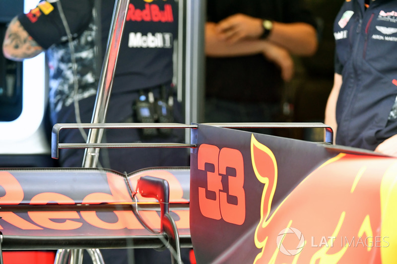 Капот Red Bull Racing RB13 Макса Ферстаппена