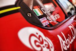 Craig Breen, Martin Scott, Citroën World Rally Team, Citroen C3 WRC, car  detail