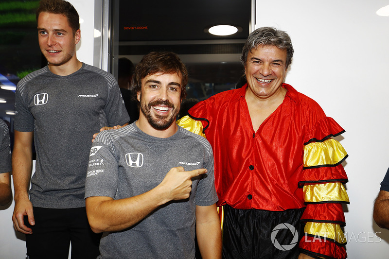 Fernando Alonso, McLaren, celebra su cumpleaños número 36