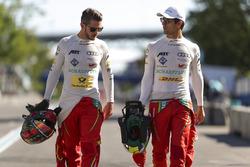 Daniel Abt, ABT Schaeffler Audi Sport, y Lucas di Grassi, ABT Schaeffler Audi Sport