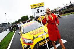 Grid girl of Mat Jackson, Motorbase Performance Ford Focus