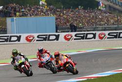 Andrea Dovizioso, Ducati Team, Marc Márquez, Repsol Honda Team, Cal Crutchlow, Team LCR Honda