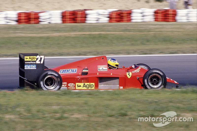 Мікеле Альборето, Ferrari F186