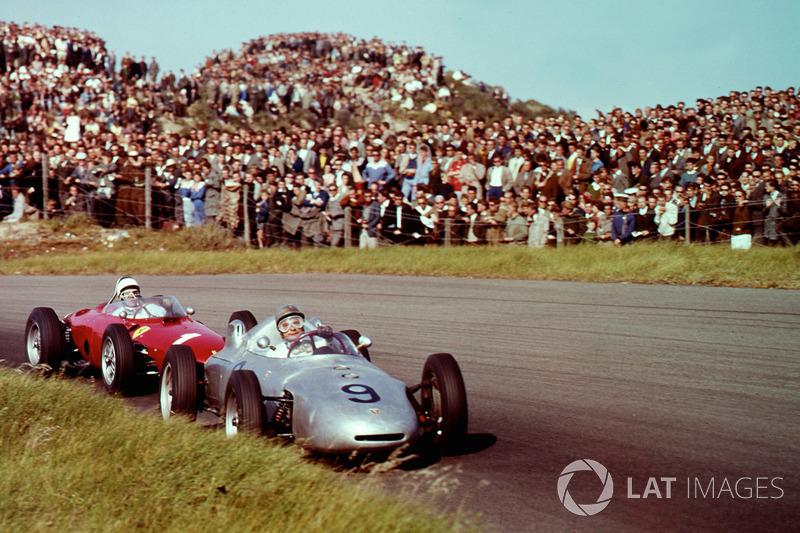 Ганс Геррманн, Porsche 718, Філ Хілл, Ferrari Dino 156
