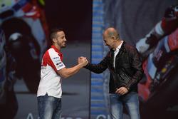 Andrea Dovizioso; Claudio Domenicali, Vorstandschef Ducati